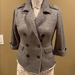 CABI Knit Jacket with 3/4 sleeve